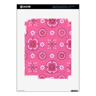 Retro Pink Decals For iPad 3