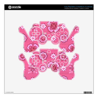 Retro Pink Skin For PS3 Controller