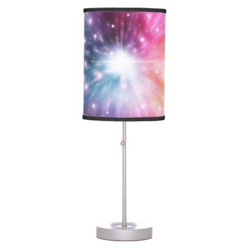 Retro Pink Sky Pattern Fun Funky 70 39 S Pattern Desk Lamp