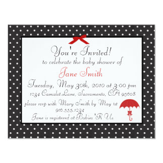 Retro Pinup Baby Shower Invitation