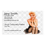 Retro Pinup Double-Sided Standard Business Cards (Pack Of 100)