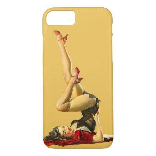 Retro Pinup Girl Phone Case