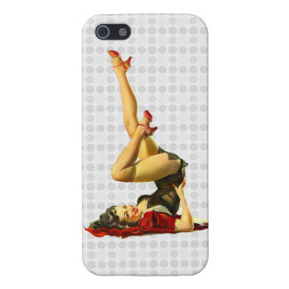 Retro Pinup Girl Cover For iPhone SE/5/5s