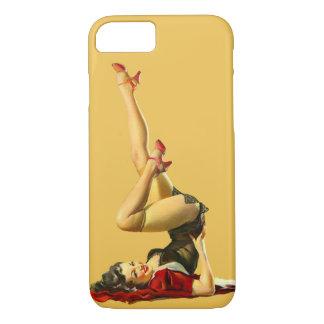 Retro Pinup Girl iPhone 7 Case