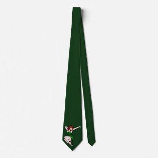 Retro Pinup Girl Tie Lucky Irish St. Patrick's Tie