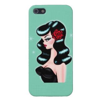 Retro Pinup iPhone SE/5/5s Case