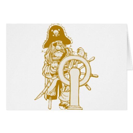 Retro Pirate Cards