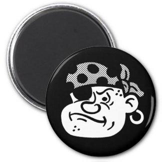 Retro Pirate Magnet