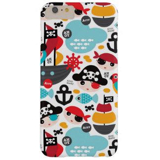 Retro pirates illustration sailing barely there iPhone 6 plus case