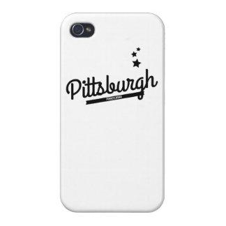 Retro Pittsburgh Logo iPhone 4/4S Covers