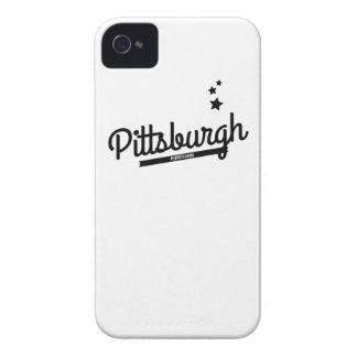 Retro Pittsburgh Logo iPhone 4 Case