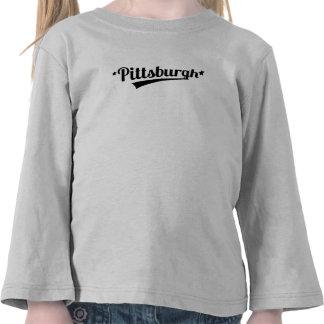 Retro Pittsburgh Logo Tee Shirts