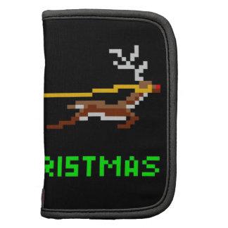 Retro pixel art Christmas Santa Organizer