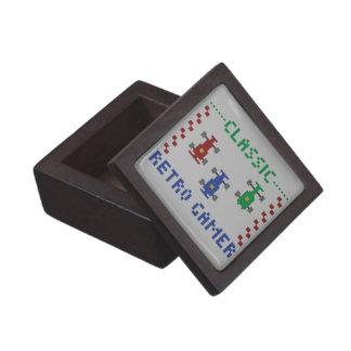 Retro Pixel Race Gift Box
