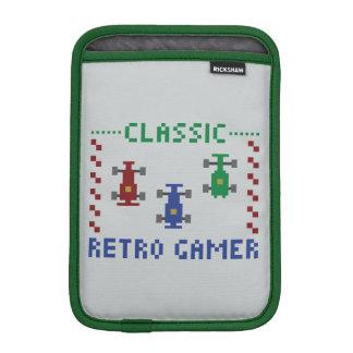 Retro Pixel Race iPad Mini Sleeves