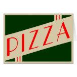 retro pizza cards