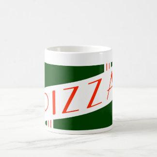 retro pizza coffee mug