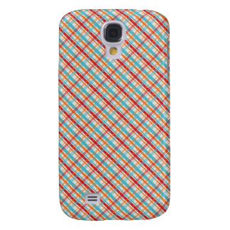 Retro plaid candy striped iPhone case skin