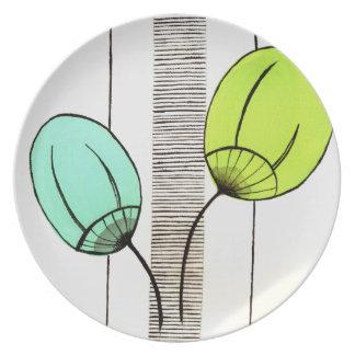 Retro plate Design