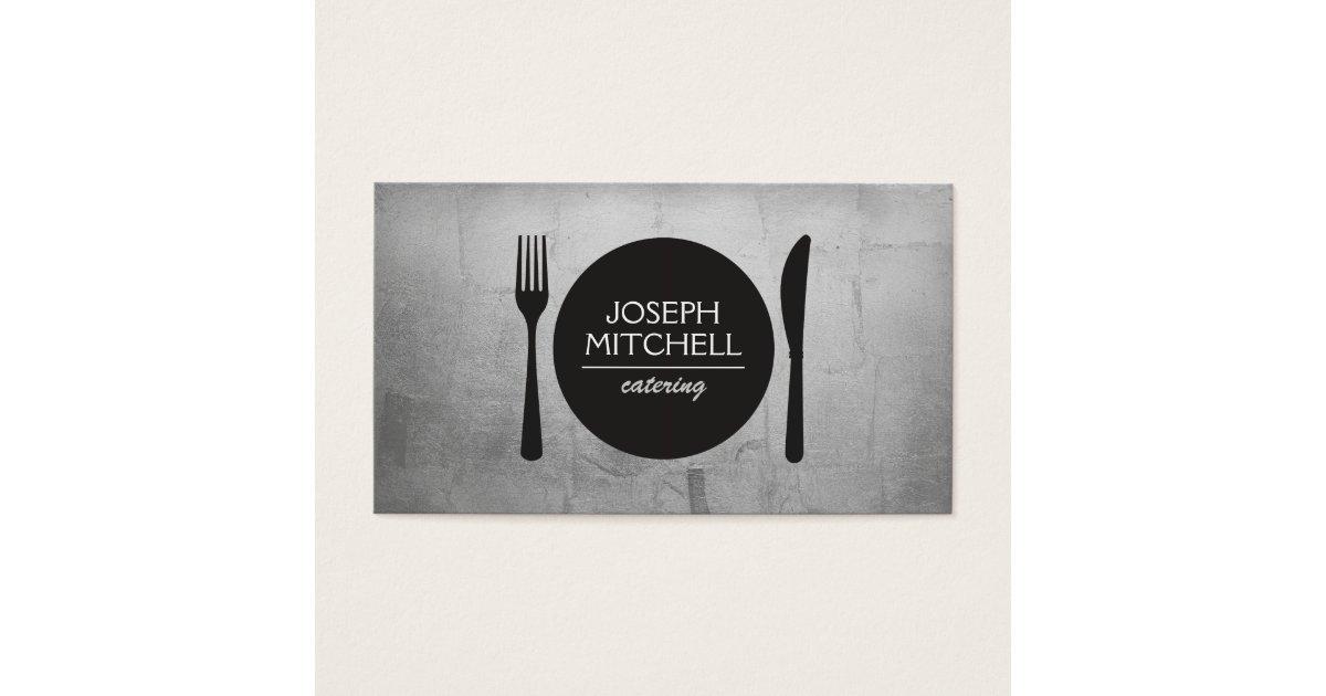 Unique Catering Business Cards & Templates   Zazzle