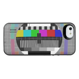 Retro PM5544 Television Test Pattern iPhone SE/5/5s Battery Case