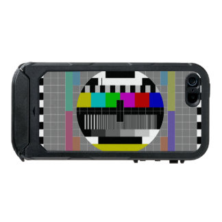 Retro PM5544 Television Test Pattern Waterproof iPhone SE/5/5s Case