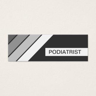 retro PODIATRIST Mini Business Card