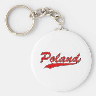 Retro Poland Key Chain