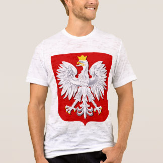 RETRO POLISH FALCON   PAPER-THIN POLSKA T-SHIRT