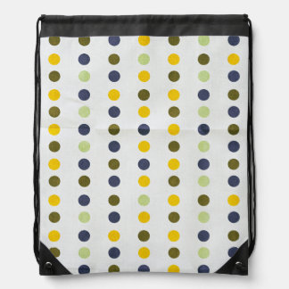 Retro,polka dot,pattern colors,trendy,earthy,chic, backpack