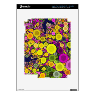 Retro Polka Dot Decals For iPad 3
