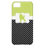 Retro Polka Dot w/Poodle iPhone 5C Case