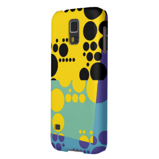 Retro Polka dots 2 Galaxy S5 Cover