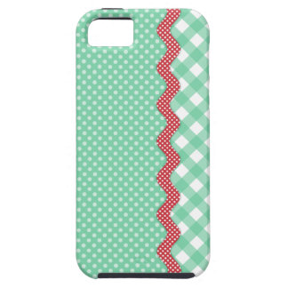 Retro Polka Dots and Checks iPhone 5 Covers
