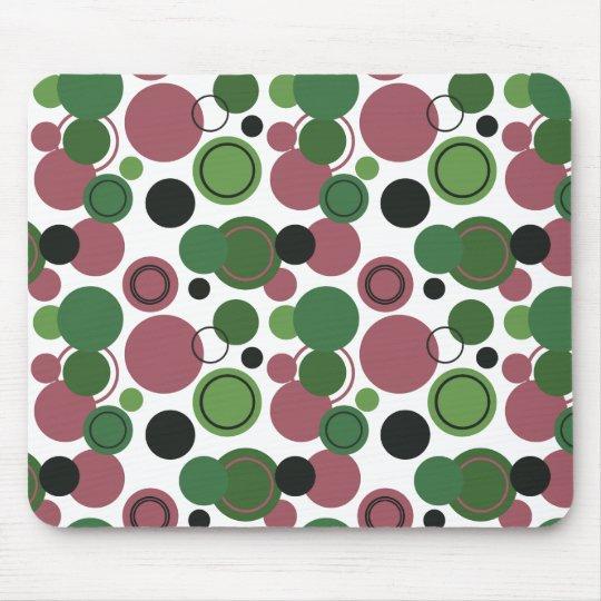 Retro Polka Dots Galore - 10 Mouse Pad