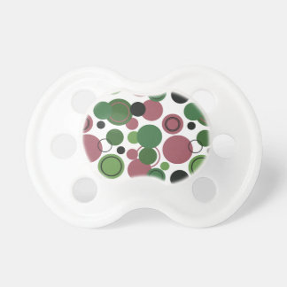 Retro Polka Dots Galore - 12 Pacifiers