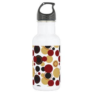 Retro Polka Dots Galore - 15 18oz Water Bottle