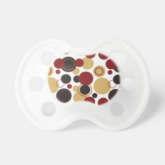 Retro Polka Dots Galore - 16 Baby Pacifier