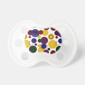 Retro Polka Dots Galore - 17 Baby Pacifier