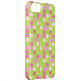 retro polka dots pattern vintage iphone 5 case
