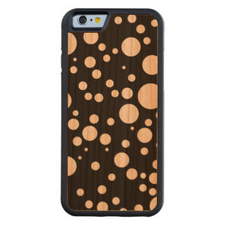 retro polka dots carved® cherry iPhone 6 bumper