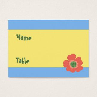 Retro Polynesia Escort Card
