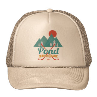 Retro Pond Hockey Trucker Hat