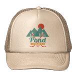 Retro Pond Hockey Mesh Hat
