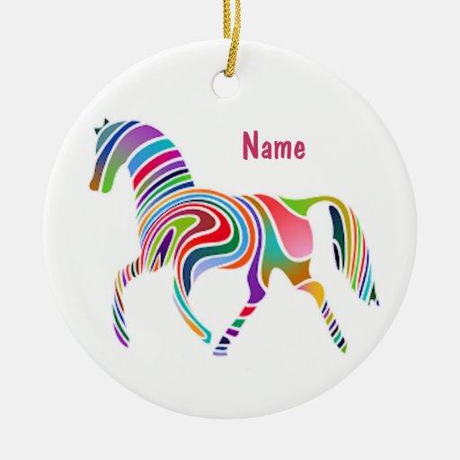 Retro Pony Ornament