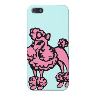 Retro Poodle iPhone Case Case For iPhone 5