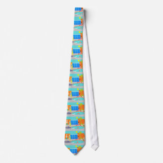 Retro Pool Party Tie