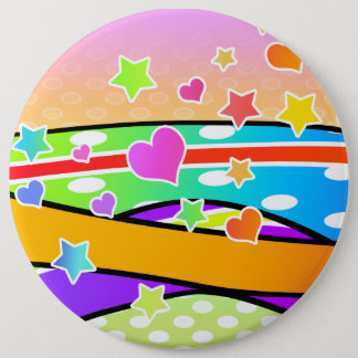 Retro POP ART BUTTON