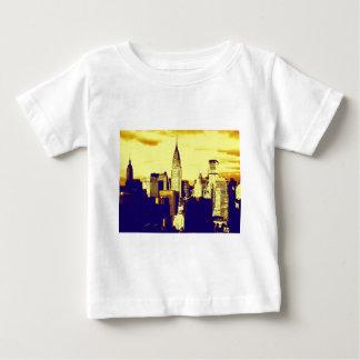 Retro Pop Art Comic New York City Baby T-Shirt