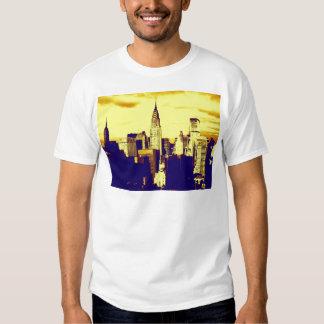 Retro Pop Art Comic New York City T Shirt
